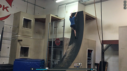 Adam Waring - warped wall