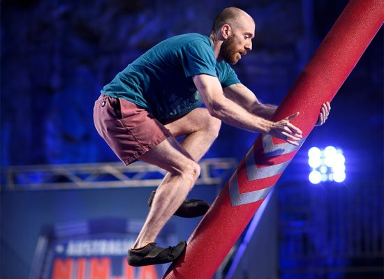 Adam Waring run on Australian Ninja Warrior Season 1