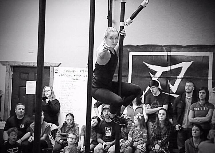 Ninjas In Training - Cristin B&W