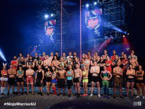 Australian Ninja Warrior Season 1 Episode 1 Ninja Cast