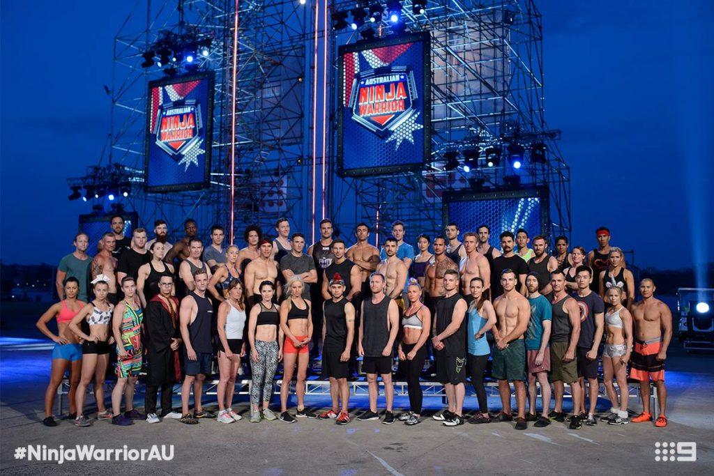Australian Ninja Warrior Season 1 Episode 4 Ninja Cast