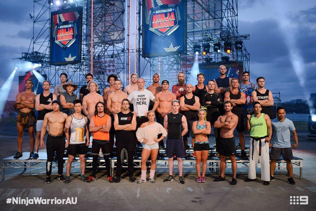 Australian Ninja Warrior Season 1 Episode 6 Ninja Cast