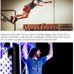 Adam Waring on Australian Ninja Warrior