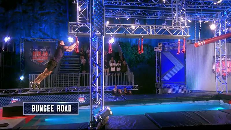 Australian Ninja Warrior Season 1 Episode 7 Bungee Road