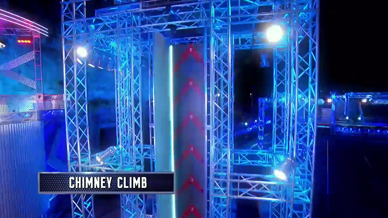 Australian Ninja Warrior Season 1 Grand Final Chimney Climb