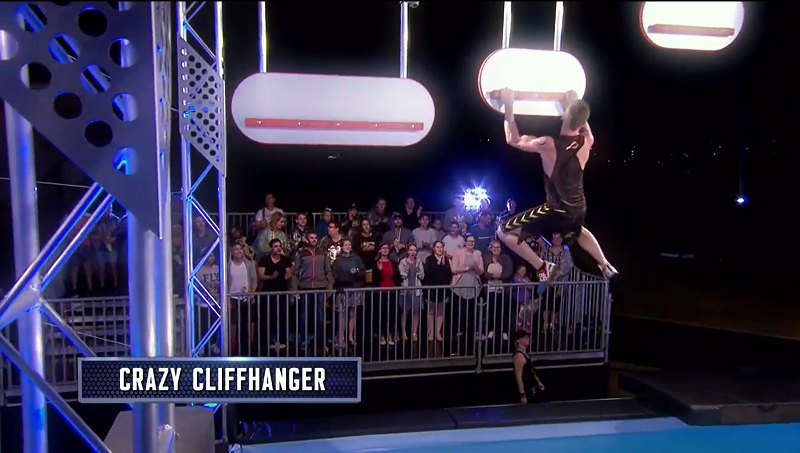 Australian Ninja Warrior Season 1 Grand Final Crazy Cliffhanger