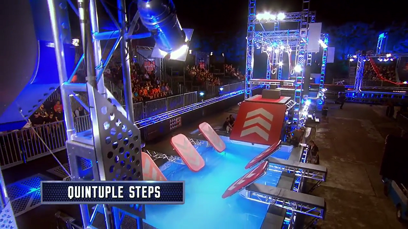 Australian Ninja Warrior Season 1 Grand Final Quintuple Steps