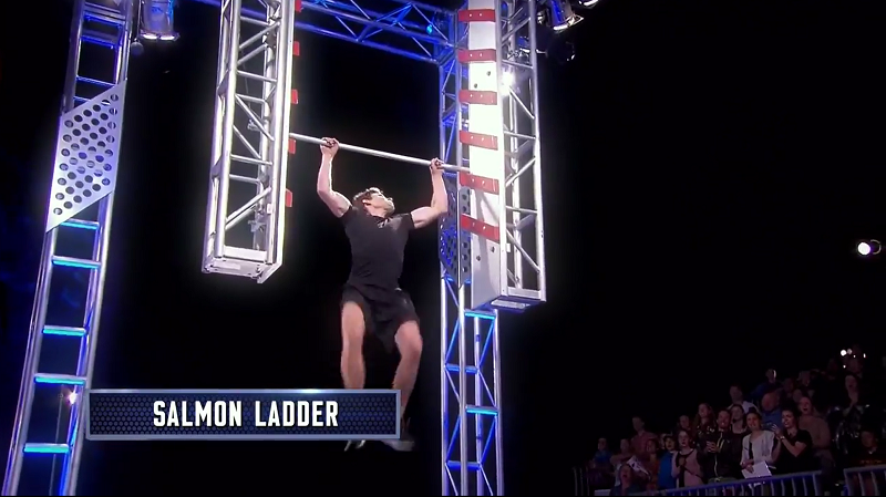 Australian Ninja Warrior Season 1 Grand Final Salmon Ladder