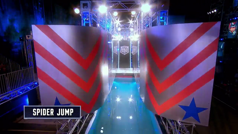 Australian Ninja Warrior Season 1 Grand Final Spider Jump