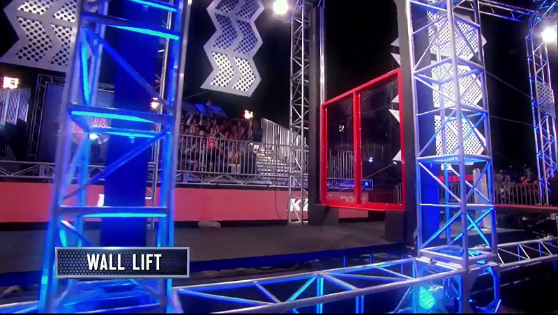 Australian Ninja Warrior Season 1 Grand Final Wall Lift