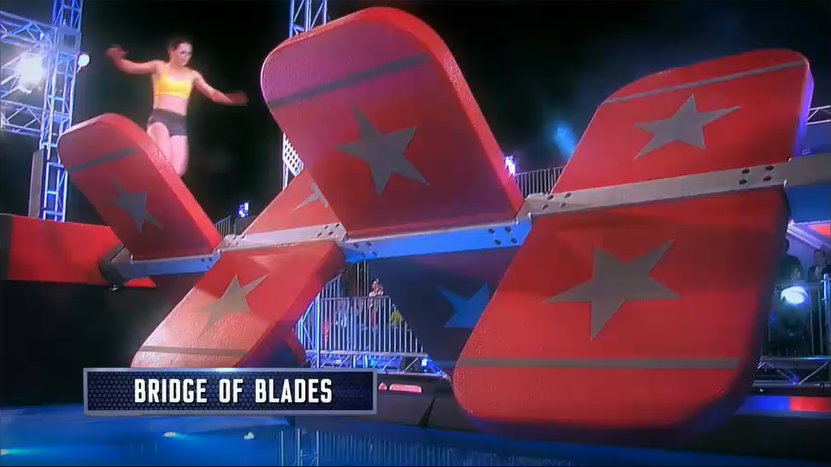 Australian Ninja Warrior Season 1 Episode 1 Bridge of Blades