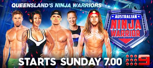 Australian Ninja Warrior Banner QLD