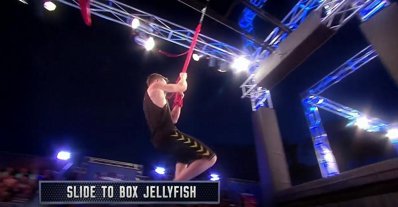 Australian Ninja Warrior Season 1 Episode 4 Slide to Box Jellyfish