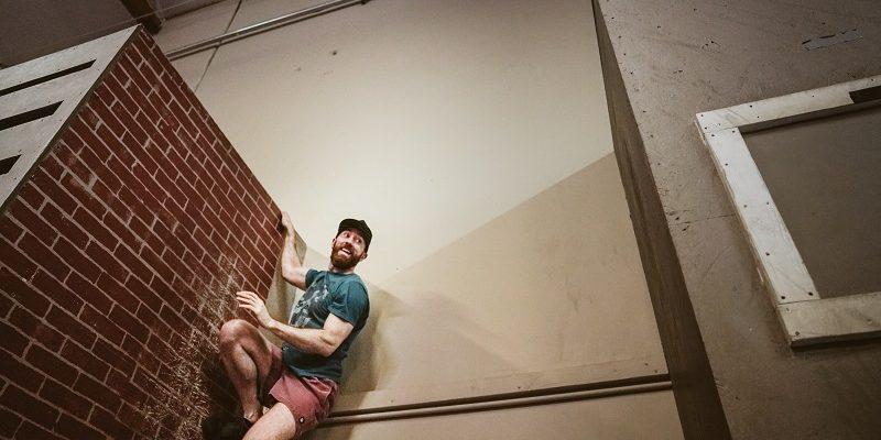 Adam Waring - Aussie Ninja - Wall Cat