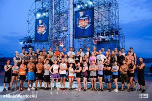 Australian Ninja Warrior Season 1 Episode 2 Ninja Cast