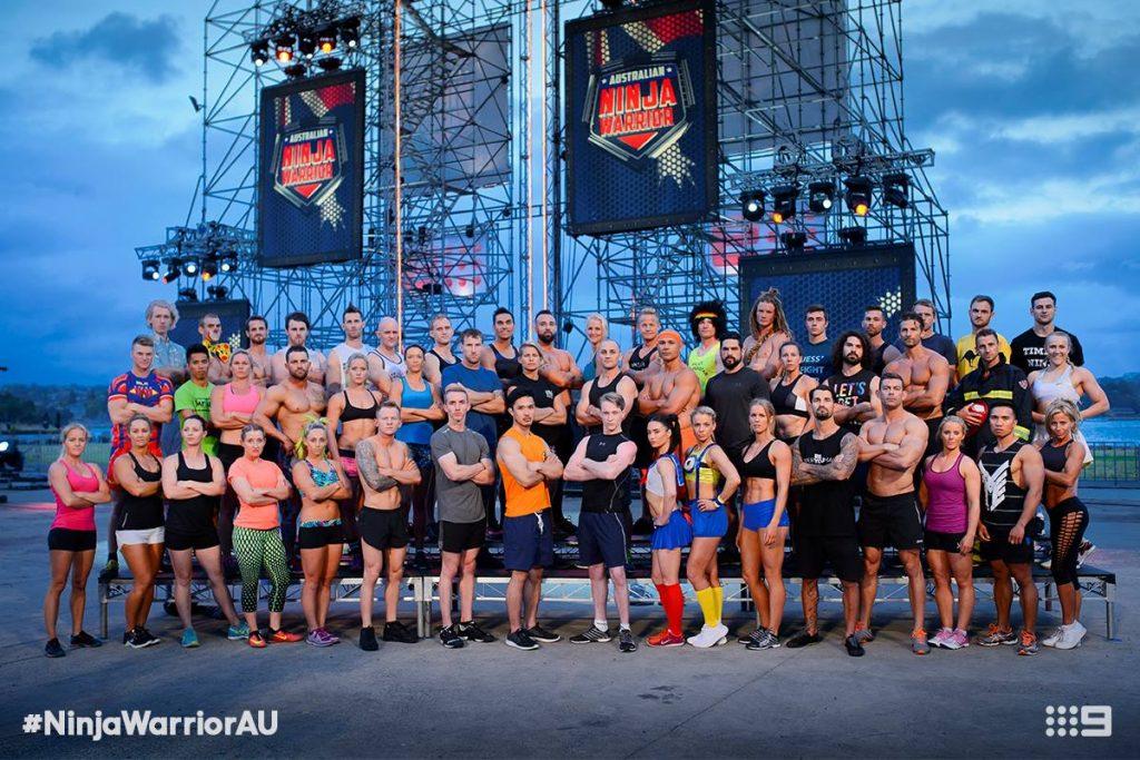Australian Ninja Warrior Season 1 Episode 5 Ninja Cast