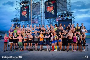 Australian Ninja Warrior Season 1 Episode 5 Ninja Cast