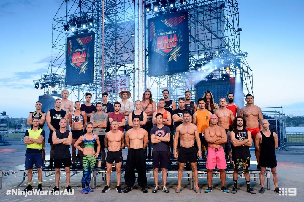 Austrlalian Ninja Warrior Season 1 Episode 8 Ninja Cast