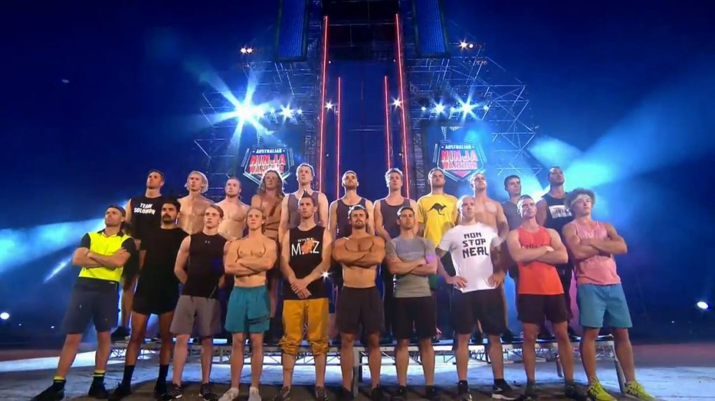 Australian Ninja Warrior Season 1 Grand Final Cast