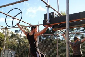 A skilled F45 trainer who's killing ninja competitions