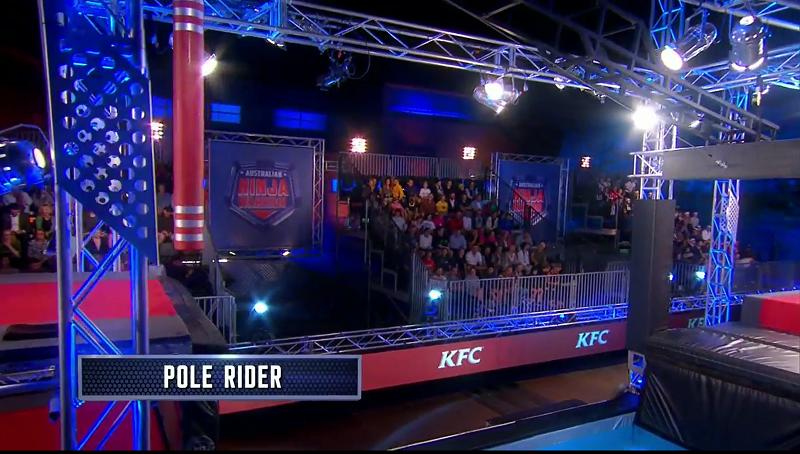 Australian Ninja Warrior Season 1 Episode 5 Pole Rider