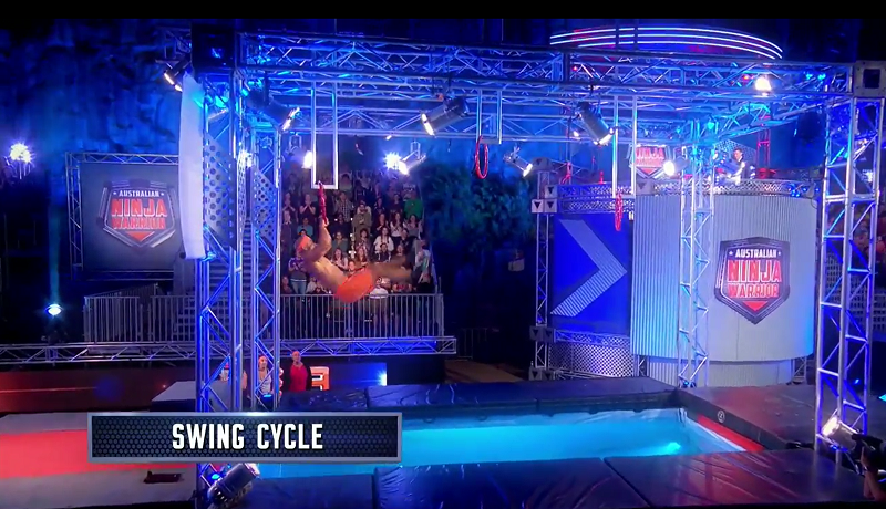 Australian Ninja Warrior Season 1 Episode 5 Swing Cycle