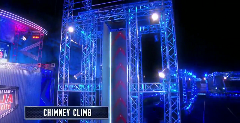 Australian Ninja Warrior Season 1 Episode 6 Chimney Climb
