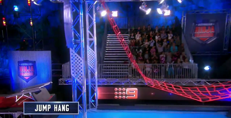 Australian Ninja Warrior Season 1 Episode 6 Jump Hang