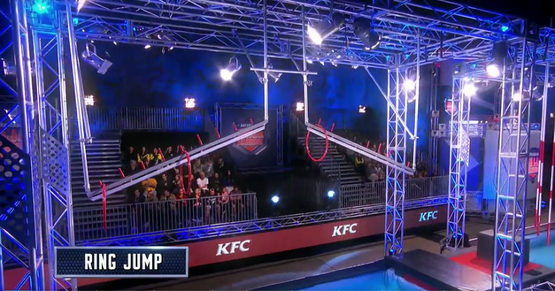 Australian Ninja Warrior Season 1 Episode 6 Ring Jump