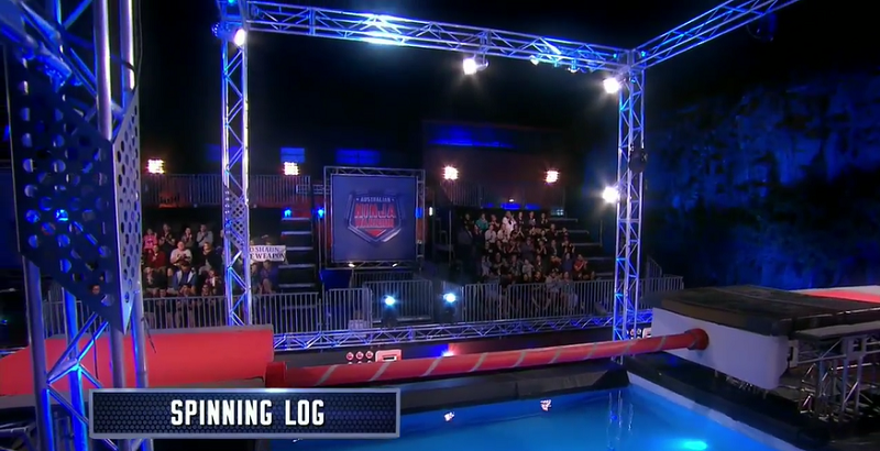 Australian Ninja Warrior Season 1 Episode 6 Spinning Log