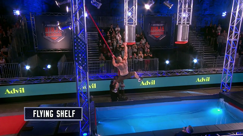 Australian Ninja Warrior Season 1 Episode 7 Flying Shelf