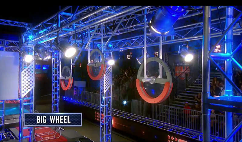 Australian Ninja Warrior Season 1 Episode 8 Big Wheel