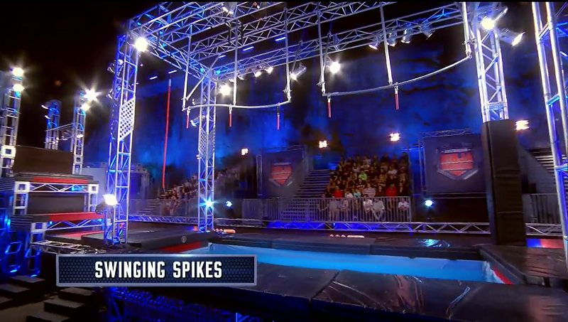 Australian Ninja Warrior Season 1 Episode 8 Swinging Spikes