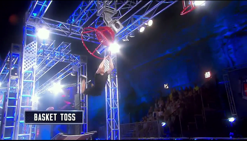 Australian Ninja Warrior Season 1 Grand Final Basket Toss