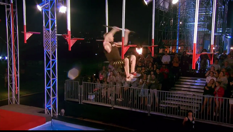 Australian Ninja Warrior Season 1 Grand Final Flying Bar