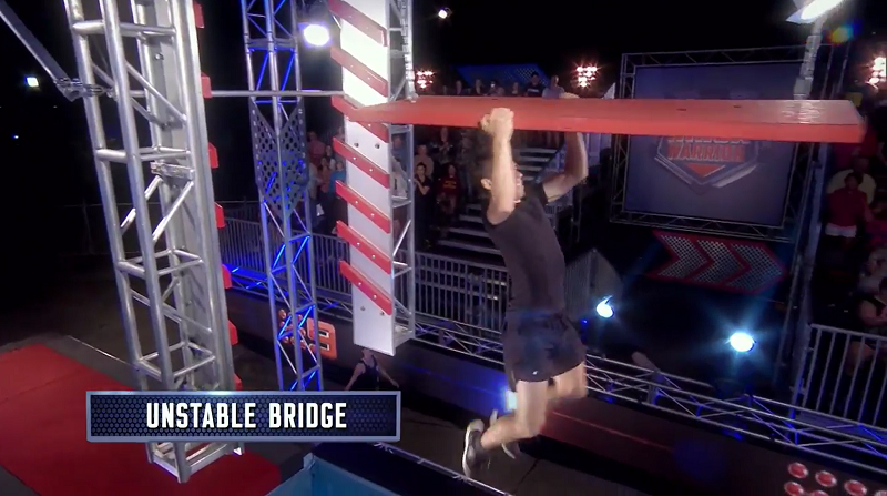 Australian Ninja Warrior Season 1 Grand Final Unstable Bridge