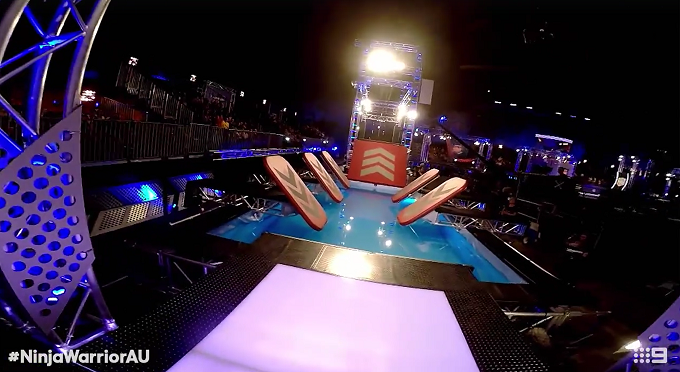 Australian Ninja Warrior course POV