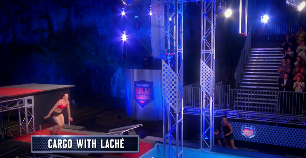 Australian Ninja Warrior Seaon 1 Episode 3 Cargo with Lache