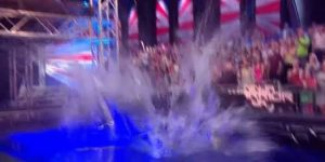Ninja warrior splash