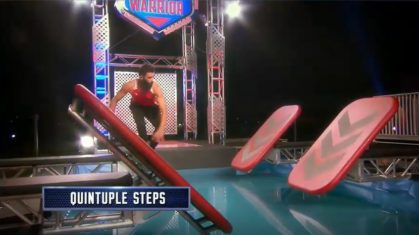 Australian Ninja Warrior Season 1 Episode 1 Quintuple Steps