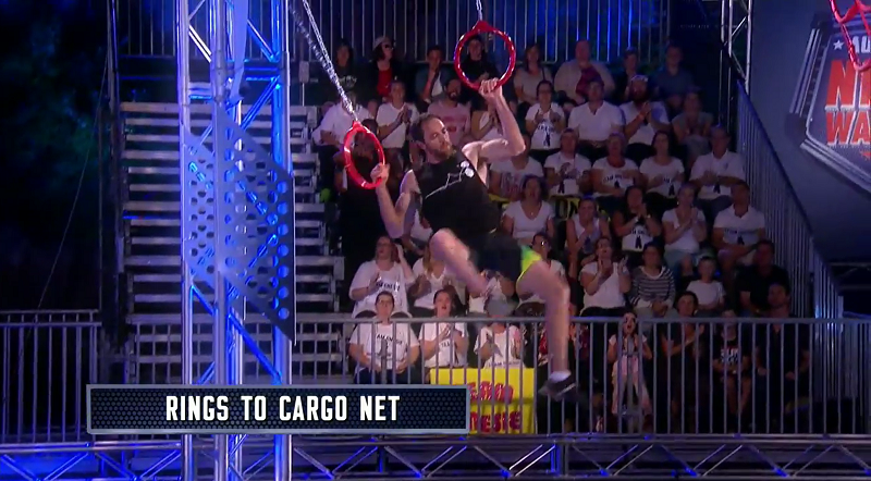 Australian Ninja Warrior Season 1 Episode 4 Rings to Cargo Net