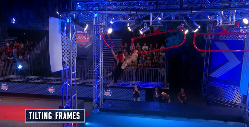 Australian Ninja Warrior Season 1 Episode 2 Tilting Frames