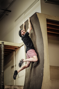 Adam Waring - Aussie Ninja - Warped Wall